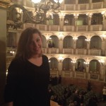 Bologna Connect intern Elisa at the Teatro Comunale.